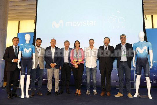 Presentation new jersey Movistar Team season 2018