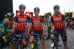 Coppa Agostoni 2017 - 71th Edition - Lissone - Lissone 199,9 - 13/09/2017 - Andrea Garosio (ITA - Bahrain - Merida) - Mark Padun (UKR - Bahrain - Merida) - Andrea Toniatti (ITA - Bahrain - Merida) - photo Luca Bettini/BettiniPhoto©2017