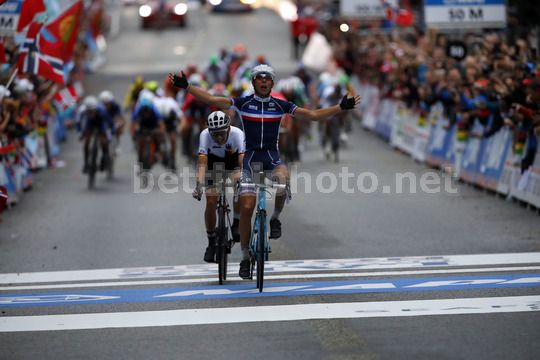 Road World Championship Bergen 2017 - UCI Under 23 Road Race 191 km - 22/09/2017 - Benoit Cosnefroy (FRA  - AG2R - La Mondiale) - Photo Luca Bettini/BettiniPhoto©2017