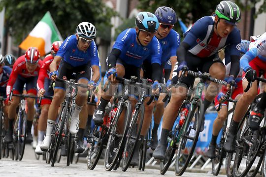 Road World Championship Bergen 2017 - UCI Under 23 Road Race 191 km - 22/09/2017 - Vincenzo Albanese (Italy) - Photo Luca Bettini/BettiniPhoto©2017