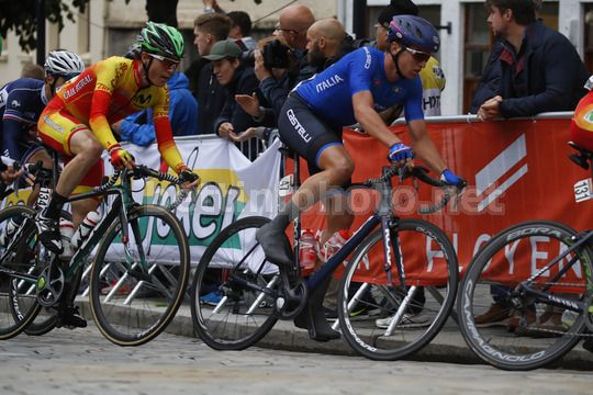 Road World Championship Bergen 2017 - UCI Under 23 Road Race 191 km - 22/09/2017 - Edoardo Affini (Italy) - Photo Luca Bettini/BettiniPhoto©2017