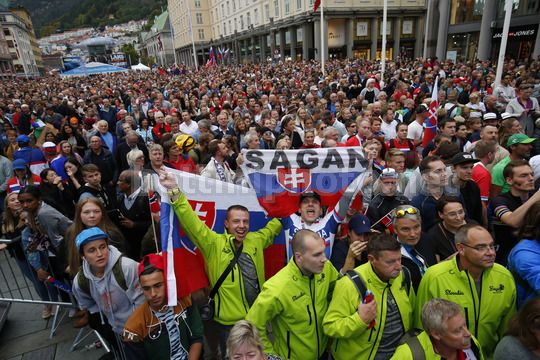 Road World Championship Bergen 2017 - UCI Men Elite' Road Race 267,5 km - 24/09/2017 - Fans - Photo Luca Bettini/BettiniPhoto©2017