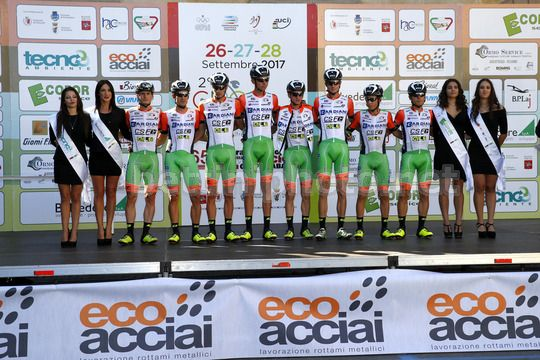 Giro della Toscana 2017 - 2nd Edition - 1st stage Pontedera - Pontedera 181,8 km - 26/09/2017 - Bardiani - CSF - Photo Luca Bettini/BettiniPhoto©2017