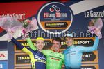 Milano - Torino 2017 - 98th Edition - San Giuliano Milanese - Basilica di Superga Torino 186 km - 05/10/2017 - Rigoberto Uran (COL - Cannondale - Drapac) - Adam Yates (GBR - ORICA - Scott) - Fabio Aru (ITA - Astana Pro Team) - photo Luca Bettini/BettiniPh