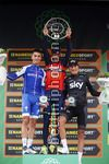 Il Lombardia 2017 - 111th edition - Bergamo - Comoa 248 km - 07/10/2017 - Julian Alaphilippe (FRA - QuickStep - Floors) - Vincenzo Nibali (ITA - Bahrain - Merida) - Gianni Moscon (ITA - Team Sky) - photo Roberto Bettini/BettiniPhoto©2017