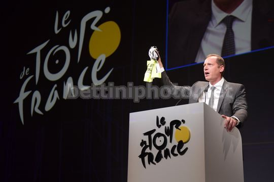Tour de France 2018 - Paris - Palais des Congres - Presentation - Christian Prudhomme (FRA - ASO) - Photo Nico Vereecken/PN/BettiniPhoto©2017