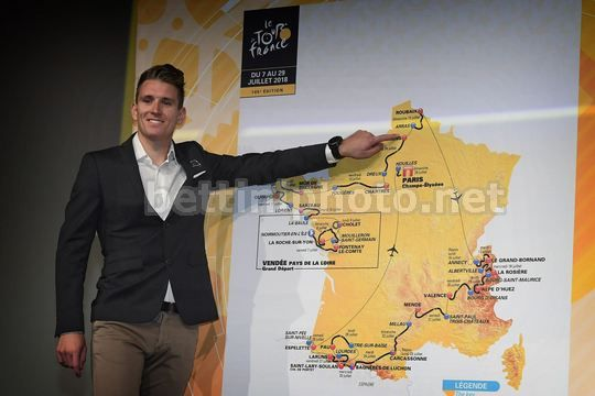 Tour de France 2018 - Paris - Palais des Congres - Presentation - Arnaud Demare (FRA - FDJ) - Photo Nico Vereecken/PN/BettiniPhoto©2017