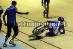 2017 UEC Elite Track European Championships - Berlin - day 2 - 19/10/2017 - Crash - Caduta - Salto - photo Roberto Bettini/BettiniPhoto©2017