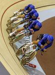 2017 UEC Elite Track European Championships - Berlin - day 2 - 19/10/2017 - Men's Team Pursuit - Italy ITA - photo Roberto Bettini/BettiniPhoto©2017