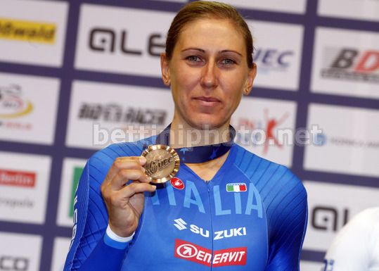 2017 UEC Elite Track European Championships - Berlin - day 2 - 19/10/2017 - Women's Individual Pursuit - Silvia Valsecchi (Italy ITA) - Photo Roberto Bettini/BettiniPhoto©2017