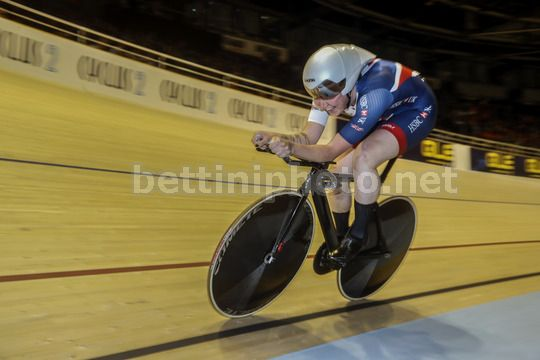 2017 UEC Elite Track European Championships - Berlin - day 2 - 19/10/2017 - Women's Individual Pursuit - Katie Archibald (Great Britain GBR) - Photo Roberto Bettini/BettiniPhoto©2017