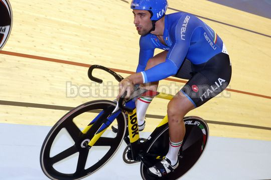 2017 UEC Elite Track European Championships - Berlin - day 2 - 19/10/2017 - Davide Ceci (Italy ITA) - Photo Roberto Bettini/BettiniPhoto©2017