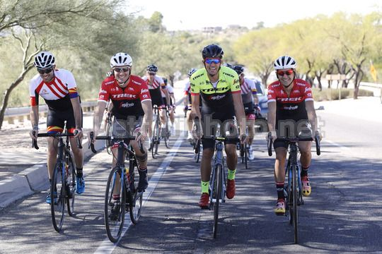 Polartec Fundacion Contador 2018 - Tucson - Arizona (USA) - Ivan Basso - Alberto Contador - Photo Luis Angel Gomez/BettiniPhoto©2017