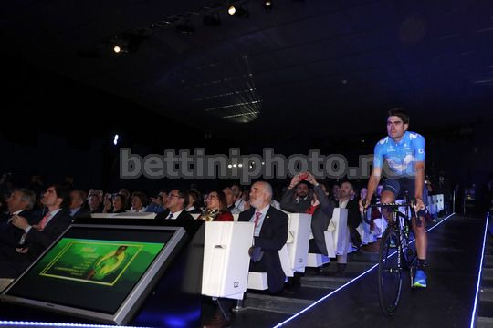 Presentation Movistar Team 2018 - Madrid - Spain - 14/12/2017 - Mikel Landa (ESP - Movistar) - Photo Luis Angel Gomez/BettiniPhoto©2017