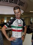 Fabio Aru alla Gazzetta dello Sport - Milano - 11/01/2018 -  Fabio Aru (ITA - UAE Team Emirates) - photo Roberto Bettini/BettiniPhoto©2017