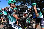 Tour Down Under 2018 - 20th Edition - Day 5  - 14/01/2018 - Peter Kennaugh (GBR - Bora - Hansgrohe) - Rudiger Selig (GER - Bora - Hansgrohe) - photo Dario Belingheri/BettiniPhoto©2018