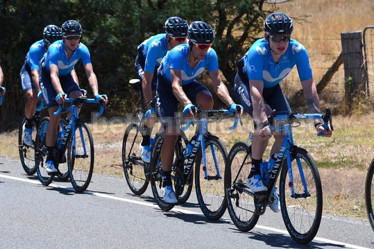Tour Down Under 2018 - 4th Stage Norwood - Uraidla 128,2 km - 19/01/2018 - Movistar - Photo Dario Belingheri/BettiniPhoto©2017