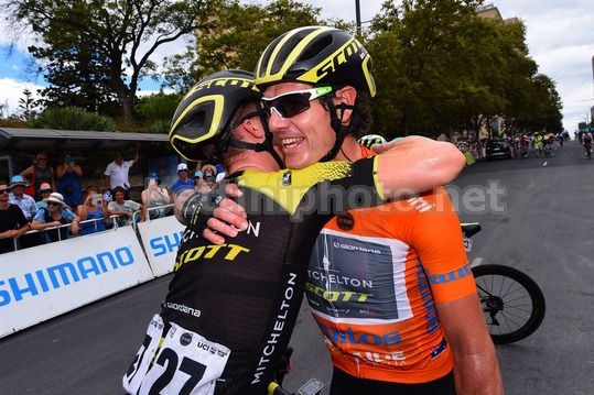 Tour Down Under 2018 - 6th stage Adelaide - Adelaide 90 km - 21/01/2018 - Daryl Impey (RSA - Mitchelton - Scott) - Photo Dario Belingheri/BettiniPhoto©2017