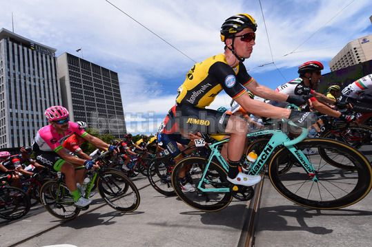 Tour Down Under 2018 - 6th stage Adelaide - Adelaide 90 km - 21/01/2018 - Team LottoNL - Jumbo - Photo Dario Belingheri/BettiniPhoto©2017