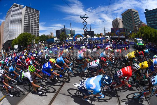 Tour Down Under 2018 - 6th stage Adelaide - Adelaide 90 km - 21/01/2018 - Scenery - Victoria Square - Photo Dario Belingheri/BettiniPhoto©2017