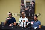 Colombia Oro Y Paz 2018 - Press Conference Alberto Contador and Ivan Basso - 09/02/2018 - Ivan Basso (ITA - Sports Director - Trek - Segafredo) - Alberto Contador - Jorge Gonzalez - photo Dario Belingheri/BettiniPhoto©2018