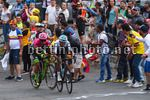 Colombia Oro Y Paz 2018 - 6th stage Armenia - Manizales 187,7 km - 11/02/2018 - Egan Bernal (COL - Team Sky) - Daniel Felipe Martinez (COL - EF Education First - Drapac) - photo Dario Belingheri/BettiniPhoto©2018