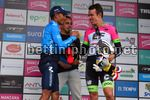 Colombia Oro Y Paz 2018 - 6th stage Armenia - Manizales 187,7 km - 11/02/2018 - Nairo Quintana (COL - Movistar) - Rigoberto Uran (COL - EF Education First - Drapac) - photo Dario Belingheri/BettiniPhoto©2018