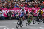 Colombia Oro Y Paz 2018 - 6th stage Armenia - Manizales 187,7 km - 11/02/2018 - Julian Alaphilippe (FRA - QuickStep - Floors) - Rigoberto Uran (COL - EF Education First - Drapac) - photo Dario Belingheri/BettiniPhoto©2018
