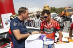 Tour of Oman 2018 - 9th Edition - 1st stage Nizwa - Sultan Qaboos University 162,5 km - 13/02/2018 - Vincenzo Nibali (ITA - Bahrain - Merida) - Michele Pallini (ITA - Bahrain - Merida) - photo Luca Bettini/BettiniPhoto©2018
