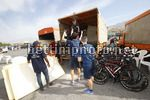 Tour of Oman 2018 - 9th Edition - 1st stage Nizwa - Sultan Qaboos University 162,5 km - 13/02/2018 - Bicycle unload from trucks - photo Luca Bettini/BettiniPhoto©2018