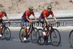 Tour of Oman 2018 - 9th Edition - 4th stage Yiti (Al Sifah) - Muscat (Ministry of Tourism) 117,5 km - 16/02/2018 - Giovanni Visconti (ITA - Bahrain - Merida) - Vincenzo Nibali (ITA - Bahrain - Merida) - photo Luca Bettini/BettiniPhoto©2018