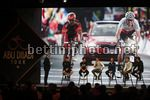Abu Dhabi Tour 2018 - 4th Edition - Team Presentation - 20/02/2018 - Elia Viviani (ITA - QuickStep - Floors) - Mark Cavendish (GBR - Dimension Data) - Rui Alberto Faria Da Costa (POR - UAE Team Emirates) - Alejandro Valverde (ESP - Movistar) - Fabio Aru (