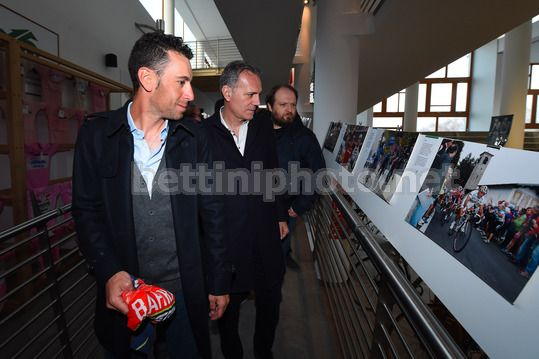 Vincenzo Nibali at the Museum of Ghisallo 2018 - Museo del Ghisallo - 20/02/2018 - Vincenzo Nibali (ITA - Bahrain - Merida) - Photo Dario Belingheri/BettiniPhoto©2018