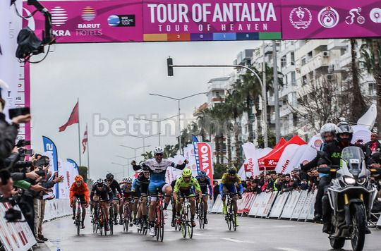 Tour of Antalya 2018 - 1st stage Antalya - Antalya 155.6 km - 22/02/2018 - Matteo Moschetti (Polartec-Kometa) - Photo Berk Mercanci/BettiniPhoto©2018