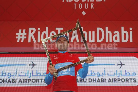 Abu Dhabi Tour 2018 - 4th Edition - 5th stage Airports stage Qasr Al Muwaiji - Jebel Hafeet 199 km - 25/02/2018 - Alejandro Valverde (ESP - Movistar) - Photo Roberto Bettini/BettiniPhoto©2018
