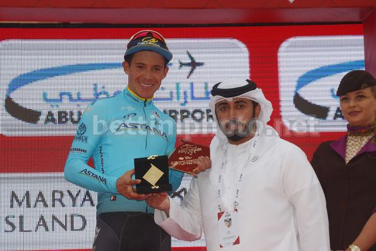 Abu Dhabi Tour 2018 - 4th Edition - 5th stage Airports stage Qasr Al Muwaiji - Jebel Hafeet 199 km - 25/02/2018 - Miguel Angel Lopez (COL - Astana Pro Team) - Photo Roberto Bettini/BettiniPhoto©2018