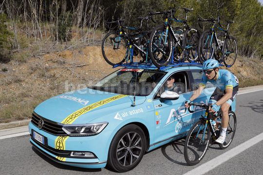 Volta Ciclista a Catalunya 2018 - 98th Edition - 2nd stage Mataro - Valls 175.6 - 20/03/2018 - Andrei Grivko (UKR - Astana Pro Team) - Photo Luis Angel Gomez/BettiniPhoto©2018