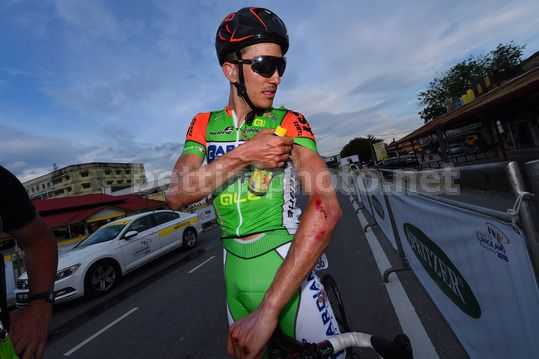 Le Tour de Langkawi 2018 - 23rd Edition - 6th stage Tapah - Tanjung Malim 108,5 km - 23/03/2018 - Luca Wackermann (ITA - Bardiani - CSF) - Photo Dario Belingheri/BettiniPhoto©2018