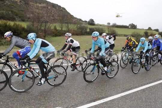 Volta Ciclista a Catalunya 2018 - 98th Edition - 6th stage Pobla de Segur  - Torrefarrera 117 km - 24/03/2018 - Astana Pro Team - Photo Luis Angel Gomez/BettiniPhoto©2018