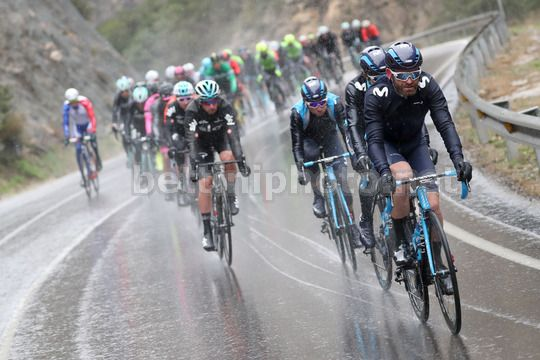Volta Ciclista a Catalunya 2018 - 98th Edition - 6th stage Pobla de Segur  - Torrefarrera 117 km - 24/03/2018 - JoseÕ Joaquin Rojas (ESP - Movistar) - Photo Luis Angel Gomez/BettiniPhoto©2018