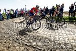 Parigi Roubaix 2018 - 116th Edition - Compiegne - Roubaix 257 km - 08/04/2018 - Borut Bozic (SLO - Bahrain - Merida) - photo Luca Bettini/BettiniPhoto©2018
