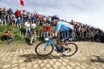Parigi Roubaix 2018 - 116th Edition - Compiegne - Roubaix 257 km - 08/04/2018 - Hector Carretero (ESP - Movistar) - photo Luca Bettini/BettiniPhoto©2018