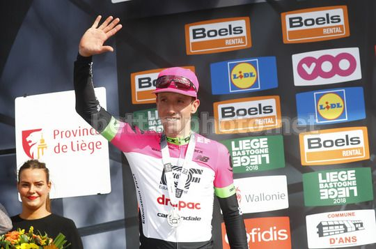Liege - Bastogne - Liege 2018 - 104th Edition - Liege - Ans   258.5 km - 22/04/2018 - Michael Woods (CAN - EF Education First - Drapac) - Photo Luca Bettini/BettiniPhoto©2018