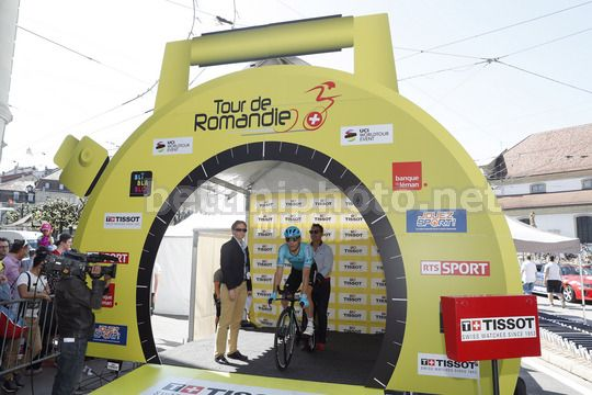 Tour de Romandie 2018 - 72th Edition - Prologue Fribourg - Friburg 4 km - 24/04/2018 - Andrei Grivko (UKR - Astana Pro Team) - Photo Luis Angel Gomez/BettiniPhoto©2018