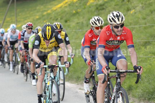 Tour de Romandie 2018 - 72th Edition - 1st stage Friburg - Delemont 166,6 km - 25/04/2018 - Gorka Izaguirre (ESP - Bahrain - Merida) - Photo Luis Angel Gomez/BettiniPhoto©2018