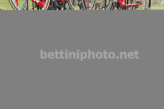 Tour de Romandie 2018 - 72th Edition - 1st stage Friburg - Delemont 166,6 km - 25/04/2018 - Tsgabu Grmay (ETH - Trek - Segafredo) - Photo Luis Angel Gomez/BettiniPhoto©2018