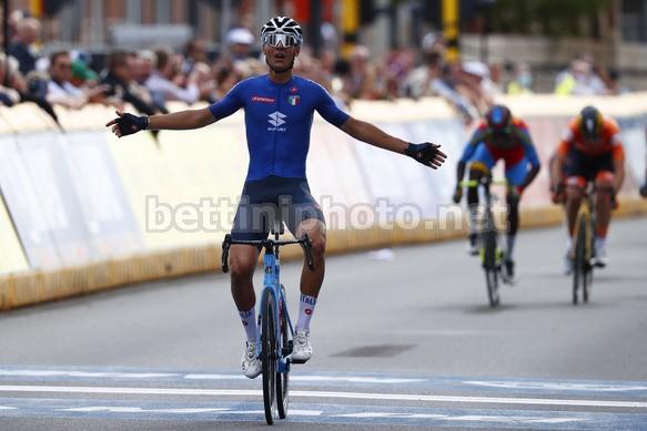 Filippo Baroncini è oro mondiale a Lovanio (foto: Bettini Photo)